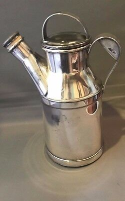 "Reed and Barton Silverplate ""Milk Can"" Cocktail Shaker - 1938 - 64 OZ"