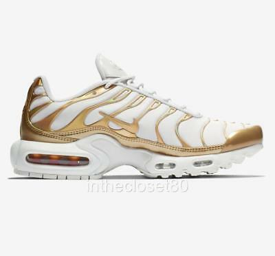spain nike air max plus gs tn weiß metalleic gold e2e9f 8cdc3