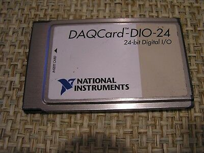 National Instruments DAQCard-DIO-24 PCMCIA