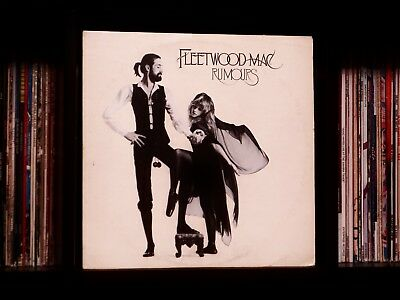 Fleetwood Mac ♫ Rumours ♫ Rare 1977 WB Mastered by Capitol Vinyl LP w/Insert 🔥