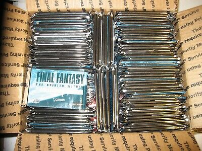 Huge Lot 200 PACKS 2001 COMIC IMAGES FINAL FANTASY THE SPIRITS WITHIN Movie NICE