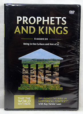 New Prophets and Kings DVD Set Vol 2 Faith Lessons Ray Vander Laan Christian