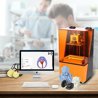 High Precision 3D Printer Kit Photosensitive Resin SLA/LCD Printing 120*68*150mm