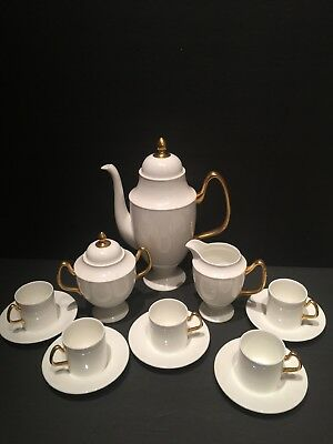 Coalport Bone China Made In England Est. 1750 Coffee/tea  Pot Set