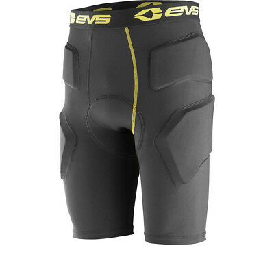 EVS TUG Impact Armoured Base Layer Shorts Breathable Compression Wicking Short