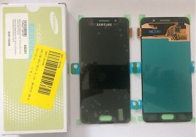 Display Lcd + Touch Screen Schermo Samsung Galaxy A3 2016 A310 Sm-A310F Nero