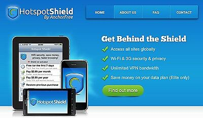 Hotspot Shield Elite Lifetime License Key!