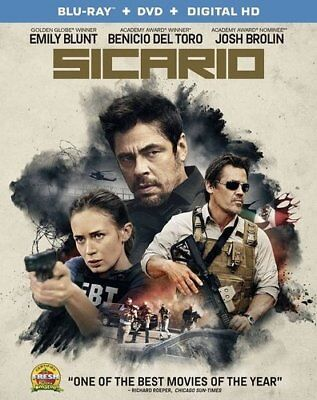 Sicario (2 Disc, Blu-ray + DVD) BLU-RAY NEW