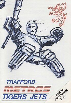 Aug 88 TRAFFORD CHALLENGE CUP including CARDIFF DEVILS, NOTTINGHAM PAN