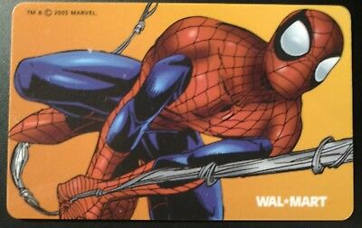 Spider Man Gift Card, 2005  Vintage Collectible,,                   (YY)