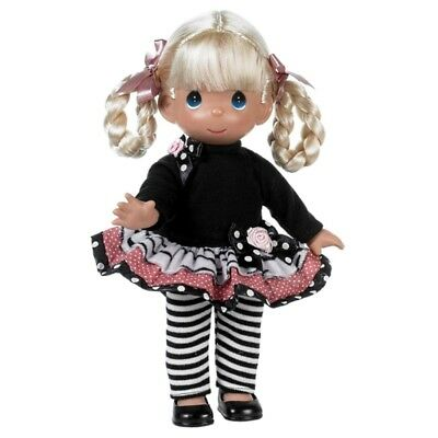 Precious Moments 12 Inch Doll, Fashion Frenzy, Blonde Hair, New In Box, 4667