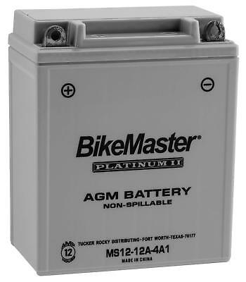 Bikemaster Agm Platinum Ii Batteries For Offroad Ms12-12A-4A1
