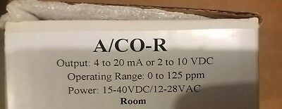 ACI A/CO-R 15-24VDC/12-28VAC 0 TO 125PPM  Output 4 to 20ma or 2 to 10 vdc
