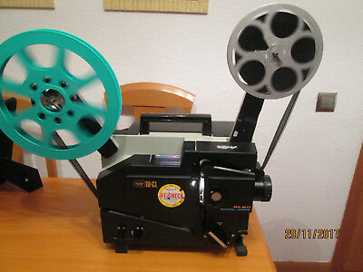Proyector 16mm Elmo cl optico y magnetico zum 35x65 impecable