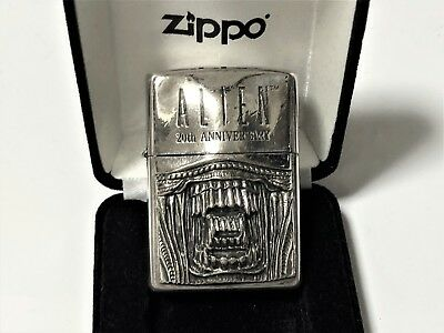 "RARE! ZIPPO Limited Edition ALIEN 20th Anniversary ""Face"" Giger Lighter No.1215"