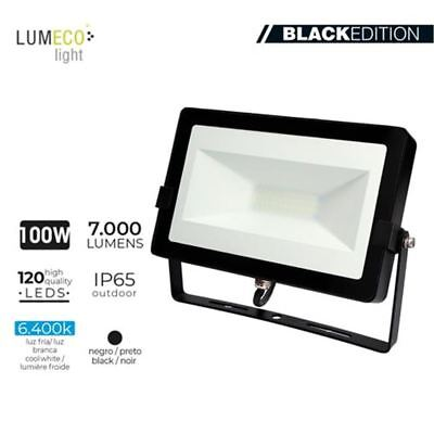 E Proyector Led Negro 100 W 6400K 7000 Lm Dia