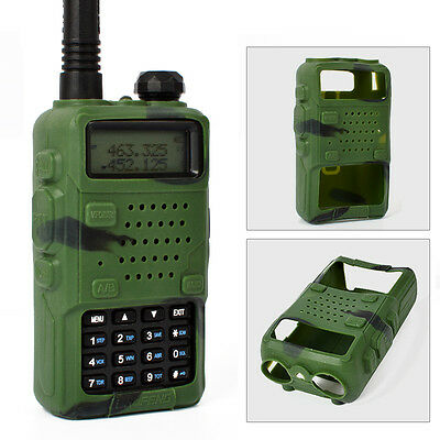 Chic Walkie Talkie Soft Case Silicone Holster Cover for Baofeng UV-5R/A/B/C/D