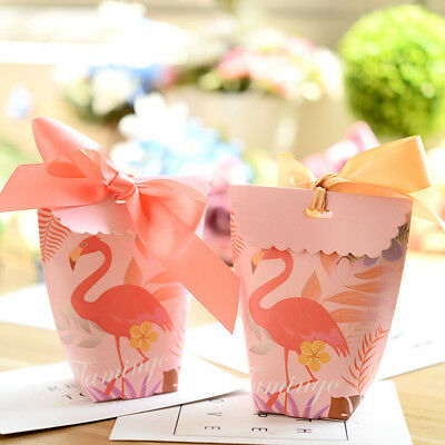 Unicorn Flamingo Candy Box Wedding Party Xmas Favor Bag Gift Boxes Supplies