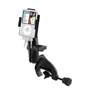 New Heavy Duty Yoke Clamp Rail Mount Holder for Apple iPod Nano 3rd Generation