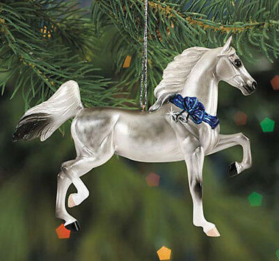 Breyer #700505 Saddlebred Ornament - 2005 Beautiful Breeds Holiday Ornament