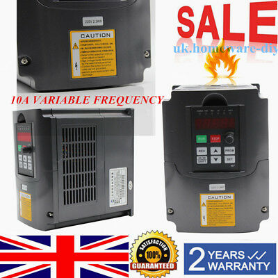 2.2Kw 220V 3Hp 10A Variable Frequency Drive Inverter Vfd Hy02D223B Top Quality