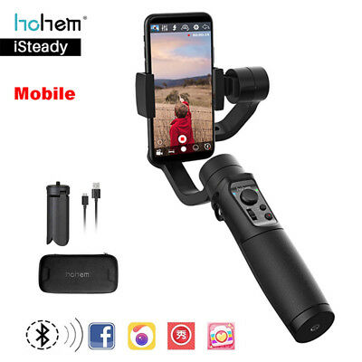 Hohem iSteady 3-Axis Smartphone Stabilizer for iPhone XS 6s 7Plus 6 For Samsung