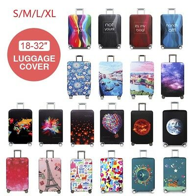 "Travel Luggage Suitcase Cover Elastic Protector Scratch Dustproof Cover 18""-32"""