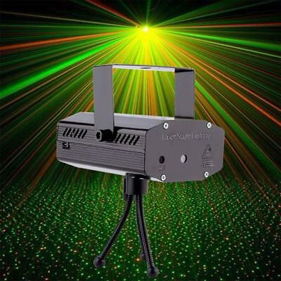 Mini R&G Laser Light Lighting Projector DJ Disco Stage Show Party Club Bar #A FZ