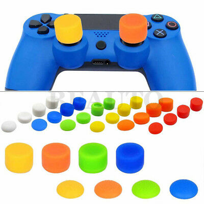 Extended Controller Thumbstick Thumb Grip Caps Cover for PS4 Slim Pro Controller