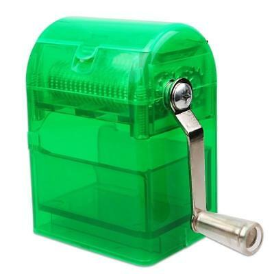 Hand Crank Grinder Crusher Tobacco Herb Cutter Shredder Smoking Case Muller
