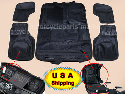 19ed37c6e0c0 TOUR PAK PACK Lid Organizer Tool Pouch Black Saddle bags For Harley Touring  USA