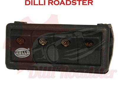 AUS Hella 4 Unit Piano Switch Cluster Console Jeep Tractor Bus Lorry