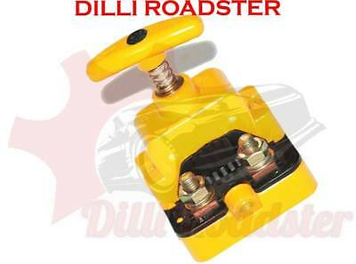 AUS Hella Big Battery Cut Off Switch Unit Yellow Colour Tractor Boat Trailer
