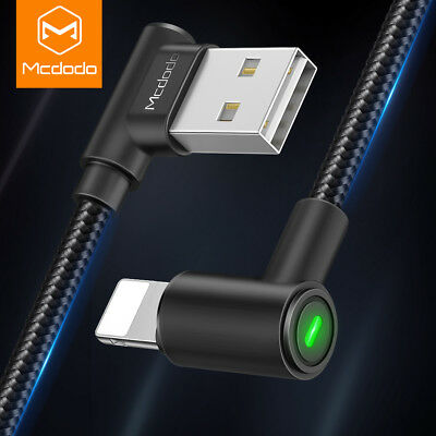 Mcdodo For iPhone XS MAX XR 8 7 6 P USB SYNC Charger Cable Charging Data Cord