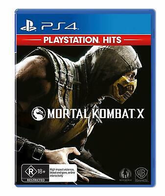 Mortal Kombat XL PS4 BRAND NEW free delivery Australia Wide CHEAPEST