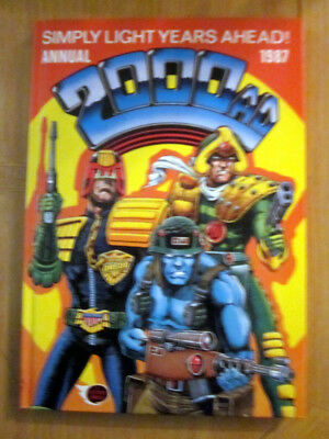 2000 AD ANNUAL 1987   NEW    :  excellent condition from comic collector.