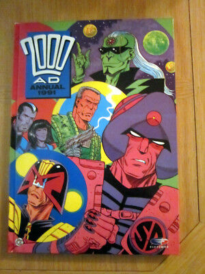 2000 AD ANNUAL 1991   NEW    :  excellent condition from comic collector.