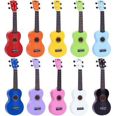 Mahalo 2511 MR1 Rainbow Soprano Ukulele with Gig Bag