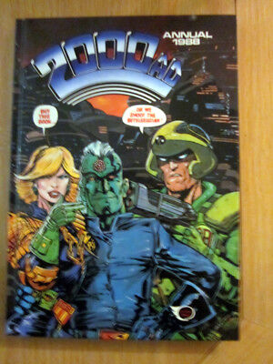 2000 AD ANNUAL 1988   NEW    :  excellent condition from comic collector.