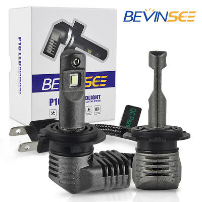 Bevinsee H7 LED Headlight Scooter Bulb Fits For BMW C600 C650 Sport C650GT 13-18