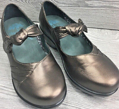 Dansko Ainsley Women's Metallic Bronze Mary Jane EU 37 Brand New! (#618)