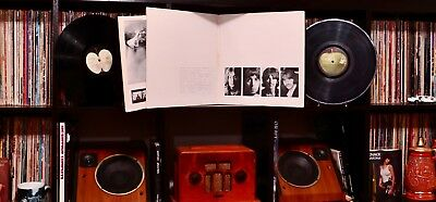 ♫ The Beatles White Album ♫ 1968 Apple Records 2x Vinyl LP +Poster 🔥 RARE LOW #