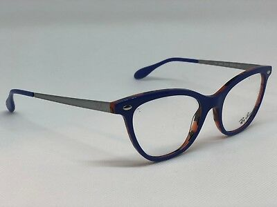 0343aaed8d3 NEW AUTHENTIC RAY-BAN Rb 5360 5715 Brown Blue Frames Eyeglasses 52Mm ...