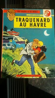 RIC HOCHET TRAQUENARD AU HAVRE EO 1963, TBE. Lombad