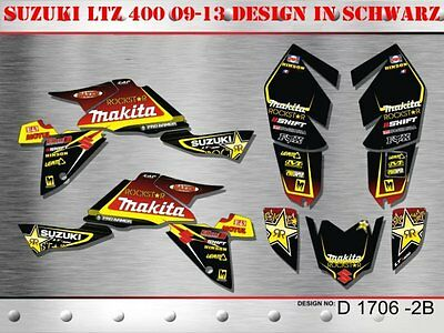 Motostyle Dekor Kit Atv Suzuki Ltz 400 Ab 2009 Graphic Kit D1706 B
