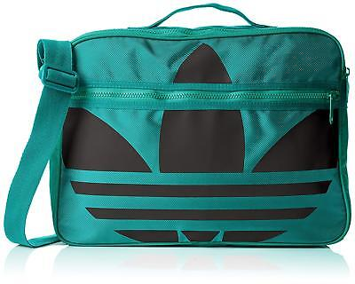 508c25ec5a Adidas Originals Airliner trefoil messenger shoulder bag AP2951 green black
