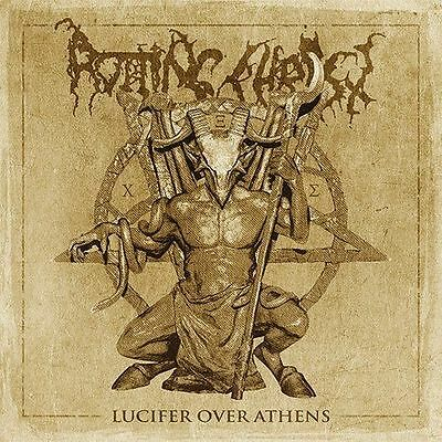 Lucifer Over Athens ROTTING CHRIST 2 CD SET ( FREE SHIPPING)