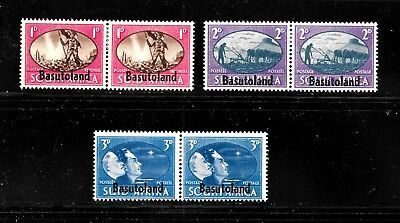 Hick Girl Stamp- Beautiful Mh. Basutoland Stamp  Sc#29-31 1945 Peace Issue  J967