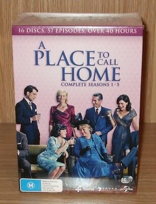 A Place To Call Home Complete Seasons 1-5 Dvd 16-Disc Box Set Brand New & Sealed