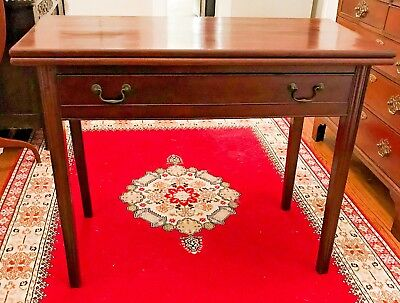 Antique 18th Century Philadelphia Chippendale Card Table - Shipping Available